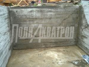 Смачивание бетона до полного влагонасыщения